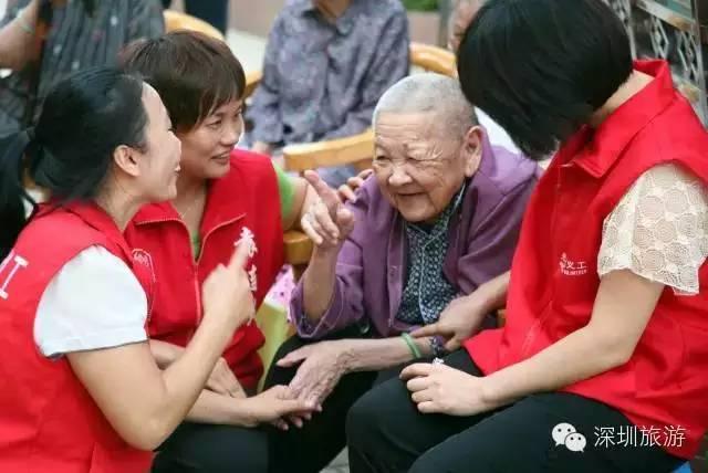 志愿者的笑脸,是深圳最好的名片